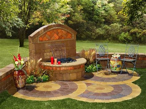 backyard wall fountains 38 best images about paver water feature on pinterest