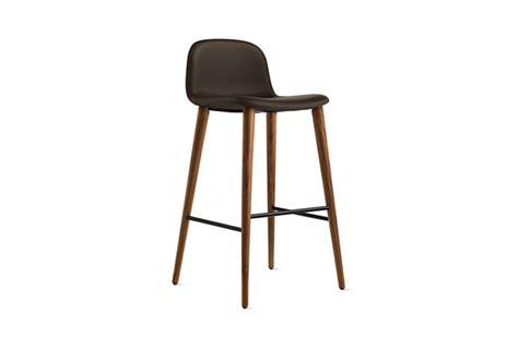 Scan Design Bar Stools by 10 Easy Pieces Leather Barstools Remodelista