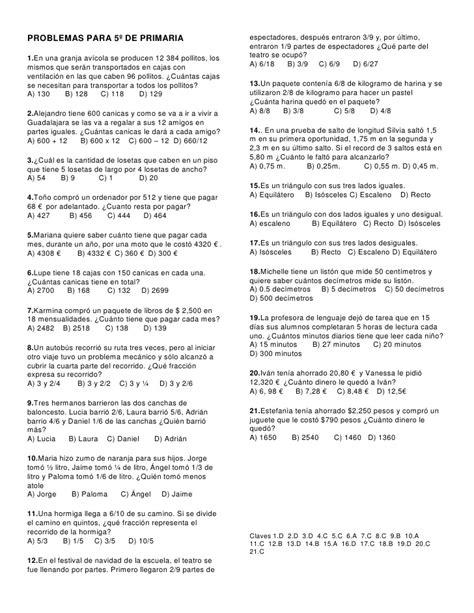 problemas para 2 de primaria slideshare newhairstylesformen2014com problemas para 5 186 de primaria