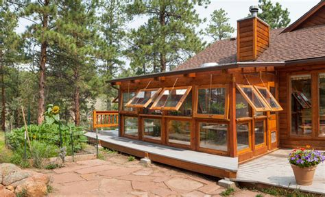 Greenhouse Sunroom Addition Lord Residence Eclectic Exterior Denver By Krause