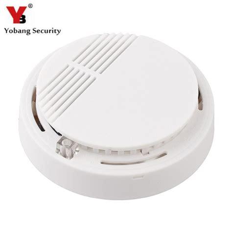 Smoke Detector 1 yobangsecurity high sensitivity photoelectric smoke detector alarm sensor for home security