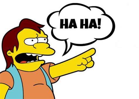 Haha Simpsons Meme - image simpsons nelson ha ha 93 p 672x480 jpg survivor