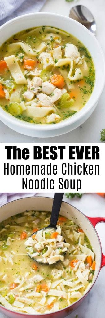 the best chicken soup ever the best chicken noodle soup tastes better from scratch