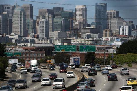 san francisco traffic map live report traffic 22 25 percent worse in san jose san