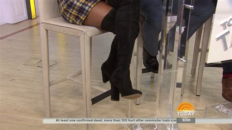 Tamron Hall Thigh High Boots | tamron hall in thigh high boots 29 sep 2016 youtube