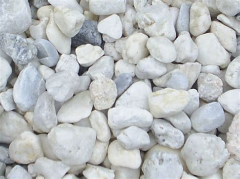 White Garden Rocks White Marble Chips Materials To Use Pinterest