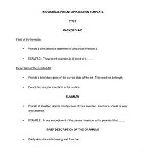 patent specification template patent application template 12 free word pdf documents