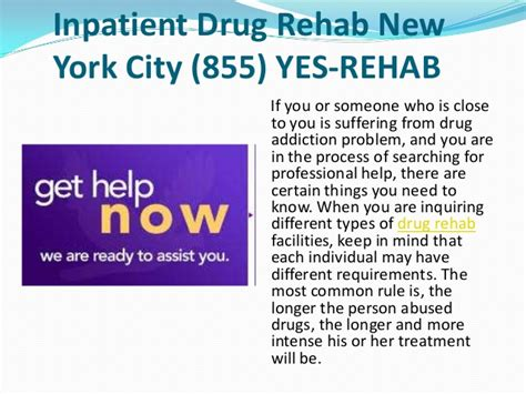 How Is Inpatient Detox by Inpatient Rehab New York City 855 Yes Rehab