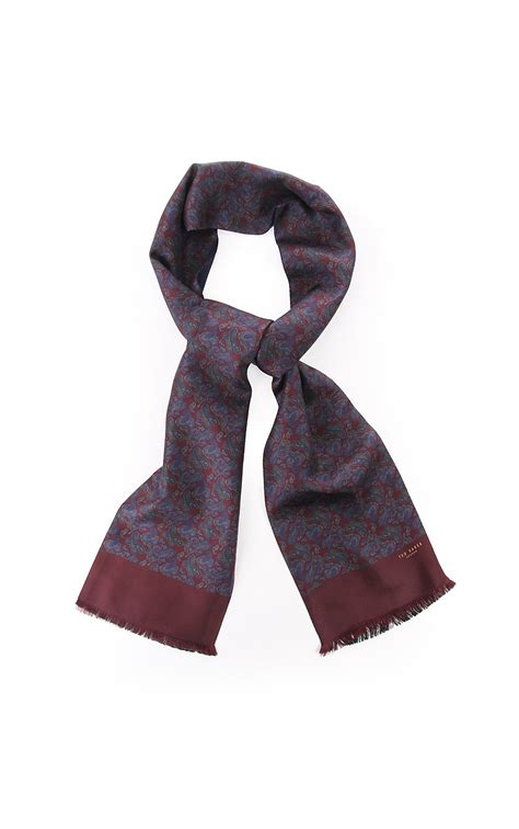 ted baker accessories britnek silk scarf from
