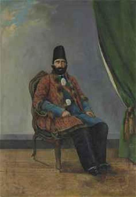 biography of artist hashem khan a portrait of mirza hashem khan amin al dawla ghaffari