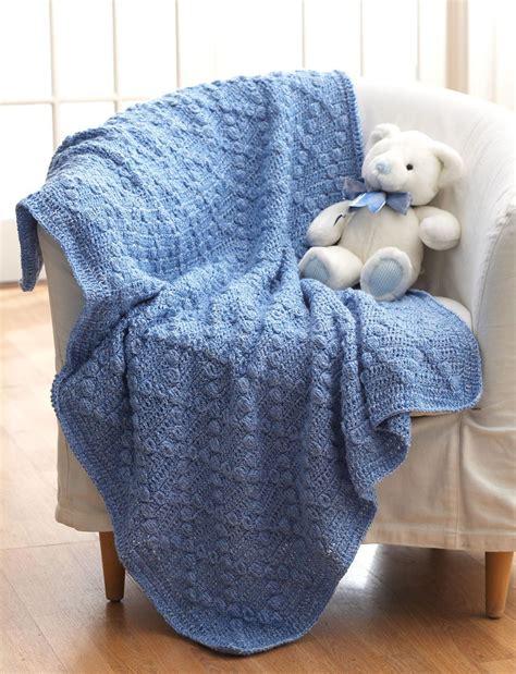 Yarn Baby Blanket Patterns by Bumpy Baby Blanket Allfreecrochetafghanpatterns