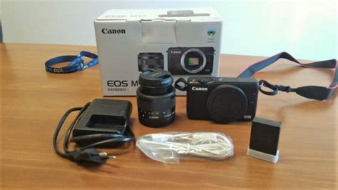 Canon Eos M10 Kit Ef M 15 45mm Is Stm Ef M 55 200mm Is Stm unboxing kit canon eos m10 ef m 15 45mm pplware