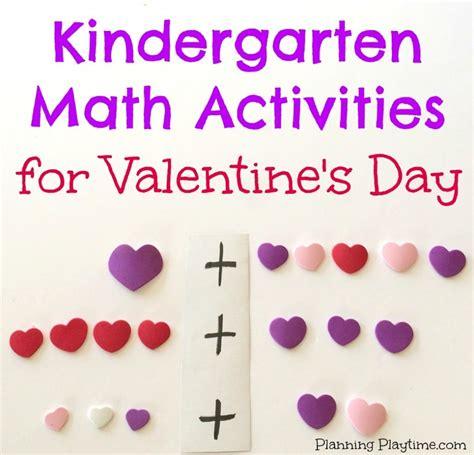s day for kindergarten kindergarten math activities for february planning playtime