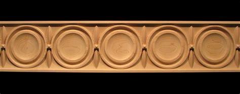 frieze moderne decorative carved wood molding