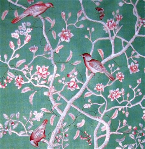 Chinoserie Wallpaper Fabric Wallpaper Chinoiserie Wallpaper