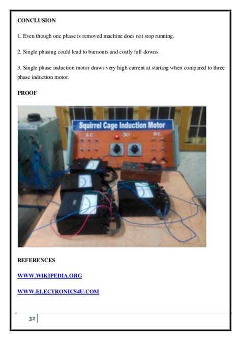 single phasing protection of induction motor single phasing of three phase induction motor