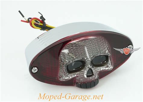 Motorrad Teile Custom by Moped Garage Net Harley Motorrad Led R 252 Cklicht Chrom 3 D