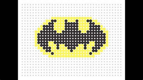 hama bead template printable hama bead batman logo logo series 5
