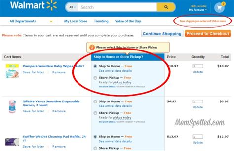 Using Walmart Gift Card Online - ordering your favorite p g products just got easier on walmart com plus gift card