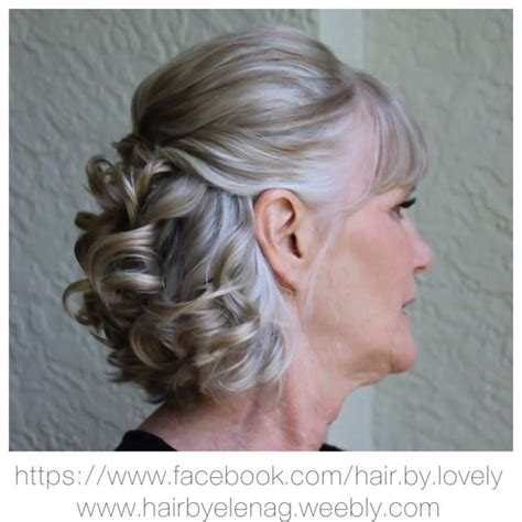pinup hairstyle mother bride mothers updo and my mom on pinterest