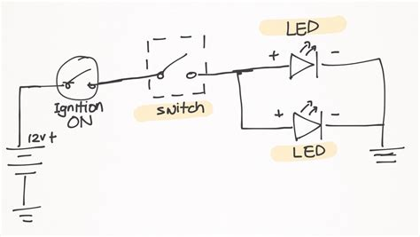 led fog lights wiring diagram rec navigation radio wiring
