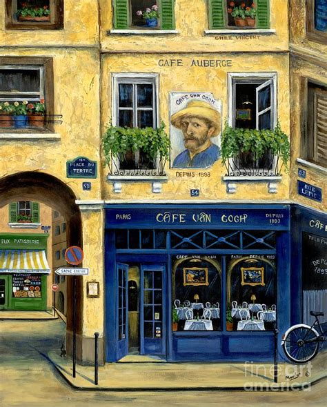 Kitchen Collection Magazine Cafe Van Gogh By Marilyn Dunlap