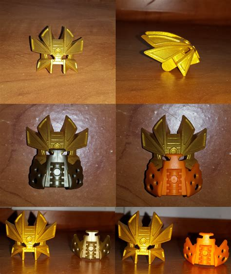 Pibamy Gold Mask Pibamy Time Gold Mask bionicle favourites by andrell on deviantart