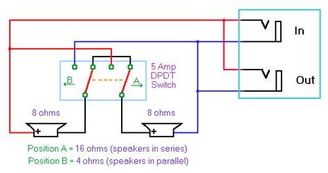 wiring cabs speaker ohms    thread page