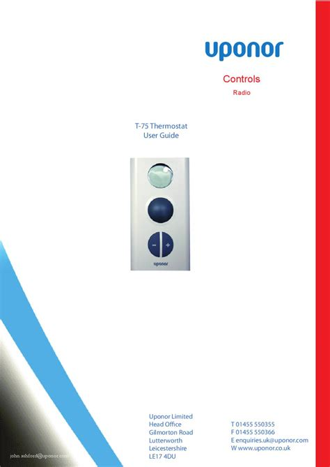 comfort zone thermostat manual pdf simple comfort thermostat user manual uponor