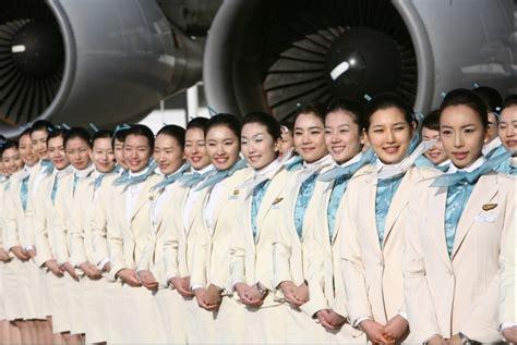 Korean Air Cabin Crew by Korean Air Flight Attendant Pramugari