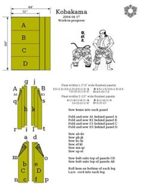 hakama pattern google search hakama pinterest hakama sizing guide by lastwear on deviantart larp