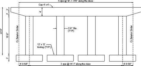 pier vs column comprehensive design exle for prestressed concrete psc