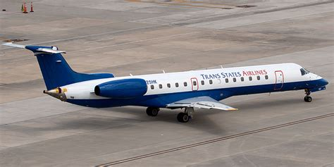 Trans States Airlines Has 53 Aircraft Flying For American And United | trans states airlines has 53 aircraft flying for american