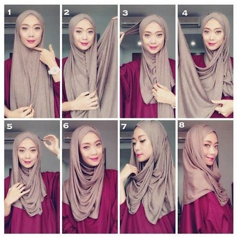 download tutorial hijab pashmina video 35 cara memakai jilbab pashmina simple kreasi terbaru 2017