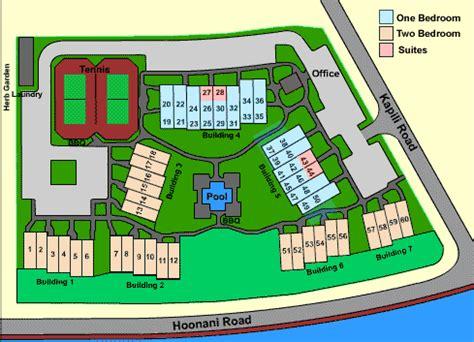lawai resort floor plans poipu kapili kauai the hawaii state condo guide