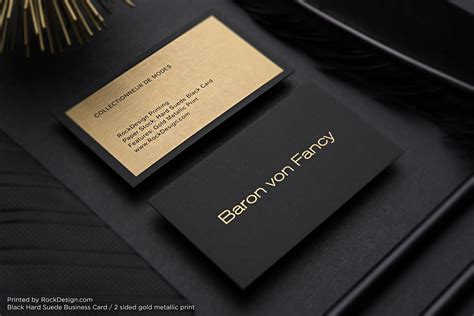 professional black out business card template metallic printing simple professional black visit card