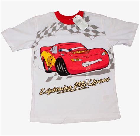 disney official cars lightning mcqueen boys pyjamas 100 cotton t shirt top ebay