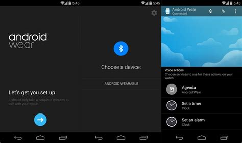 android wear app android wear les applications d 233 barquent sur le play