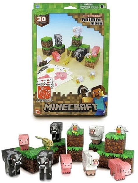 Minecraft Papercraft Animal Mobs Set - minecraft papercraft animal mobs 30 set at