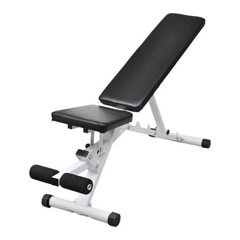 fitness adjustable bench vidaxl co uk fitness workout utility bench adjustable