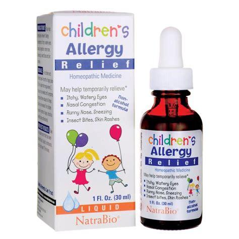 Natra Bio Children S Cold Flu Relief 30 Ml natrabio children s allergy relief 1 fl oz 30 ml liquid swanson health products