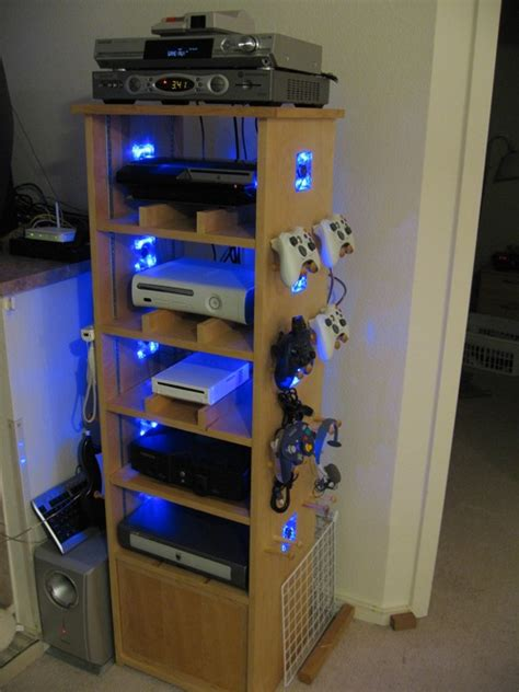 video game storage ideas the perfect gamers case is created gearfuse