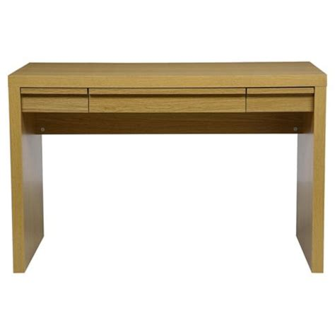 tribeca study desk with drawers buy tribeca desk oak effect from our office desks