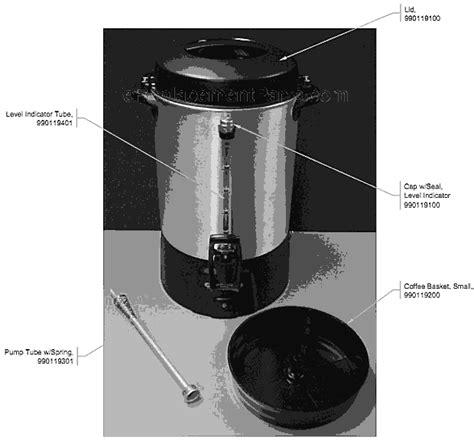 hamilton coffee maker parts hamilton 45060 parts list and diagram a ereplacementparts