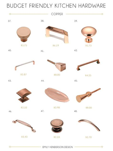 satin copper cabinet hardware budget friendly copper kitchen hardware knobs and pulls