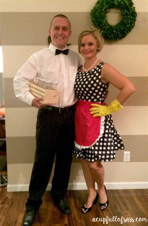 housewife halloween costume funny couple