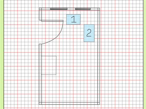 printable graph paper for room design how to draw a floor plan to scale 7 steps with pictures