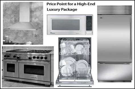 wolf kitchen appliance packages select appliances in your budget 3 sle kitchen packages for high end luxury mid budget