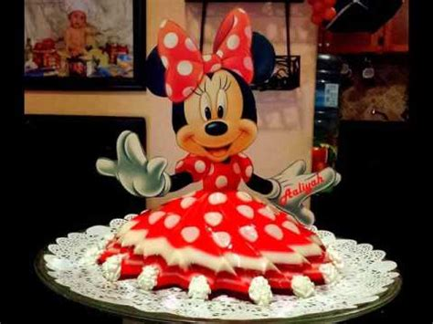 moldes para gelatina de minnie bolos de princesa feitos com gelatina jello desserts