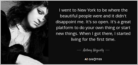 7 Brands That Disappointed Me by Top 21 Quotes By Antony Hegarty A Z Quotes